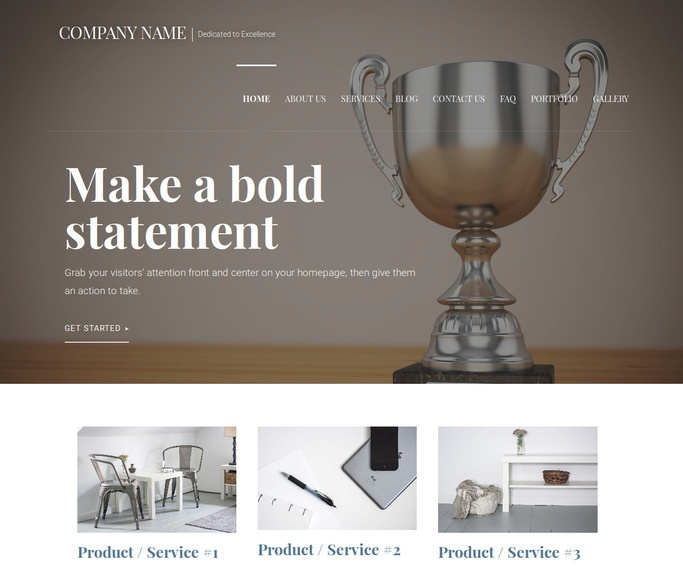 Velux Trophies and Awards Shop WordPress Theme