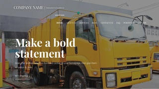Velux Truck Wash WordPress Theme