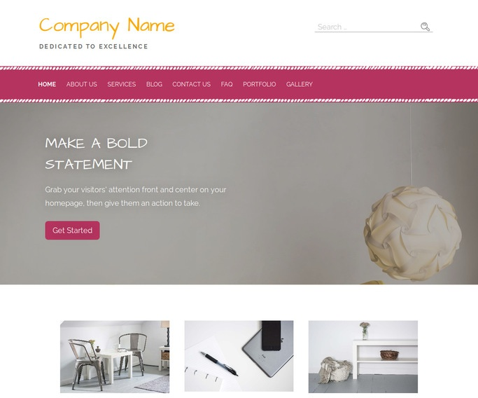 Scribbles Upholstery Cleaning WordPress Theme