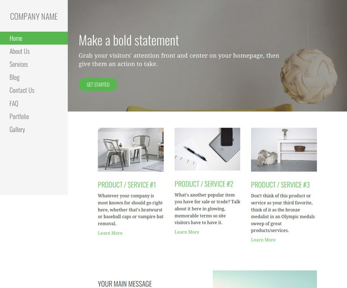 Escapade Upholstery Shop WordPress Theme