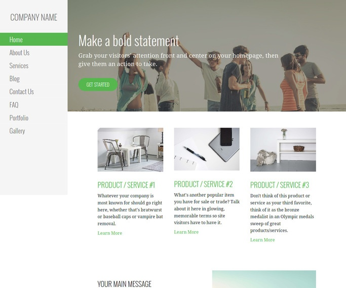 Escapade Videographer WordPress Theme