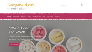 Scribbles Vitamin and Supplements WordPress Theme