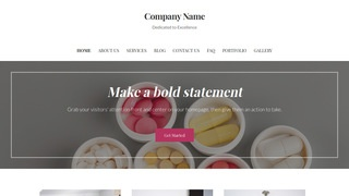 Uptown Style Vitamin and Supplements WordPress Theme