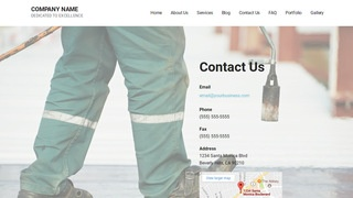 Mins Home Waterproofing WordPress Theme