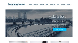 Ascension Water Treatment Equipment WordPress Theme