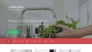 Activation Water Treatment Plant WordPress Theme