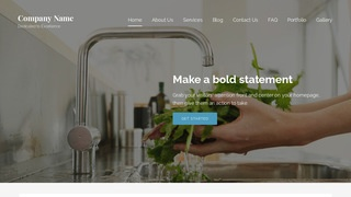 Lyrical Water Treatment Plant WordPress Theme