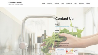 Mins Water Treatment Plant WordPress Theme