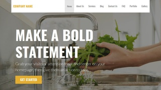 Stout Water Treatment Plant WordPress Theme