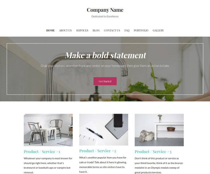 Uptown Style Water Treatment Plant WordPress Theme