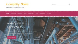 Scribbles Water Works Equipment Supplier WordPress Theme
