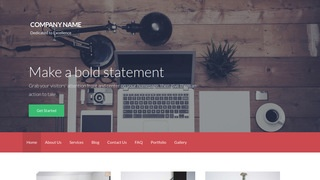 Activation Web Design WordPress Theme