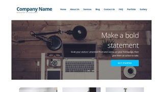 Ascension Web Design WordPress Theme