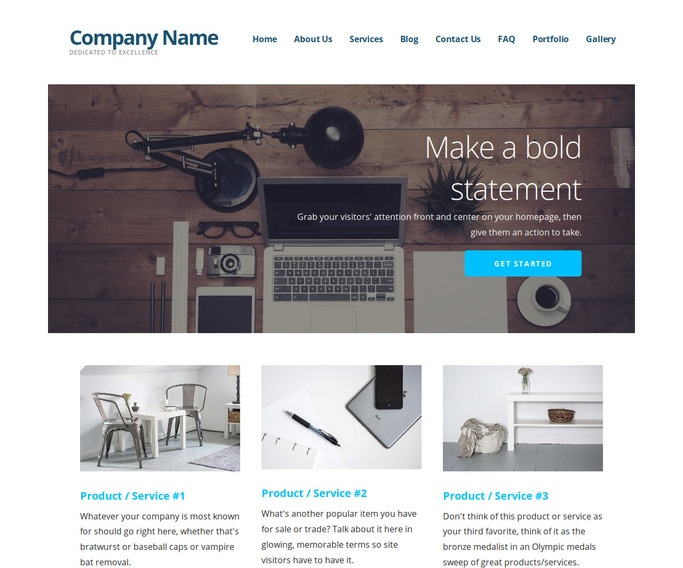 Ascension Web Design WordPress Theme