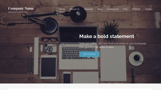 Lyrical Web Design WordPress Theme
