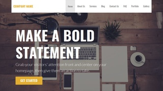 Stout Web Design WordPress Theme