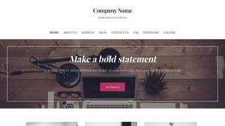 Uptown Style Web Design WordPress Theme