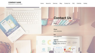Mins Web Hosting Company WordPress Theme