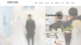 Mins Wedding Planner WordPress Theme