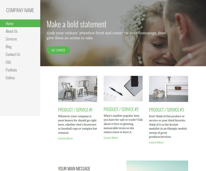 Escapade Wedding and Event Photography WordPress Theme