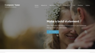 Lyrical Wedding and Event Photography WordPress Theme
