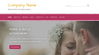 Scribbles Wedding and Event Photography WordPress Theme
