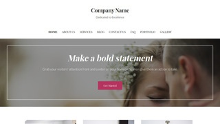 Uptown Style Wedding and Event Photography WordPress Theme