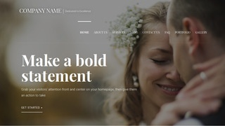 Velux Wedding and Event Photography WordPress Theme
