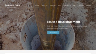 Lyrical Well Drilling Contractor WordPress Theme