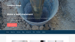Primer Well Drilling Contractor WordPress Theme