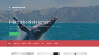 Activation Whale Watching WordPress Theme