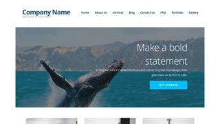 Ascension Whale Watching WordPress Theme