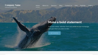 Lyrical Whale Watching WordPress Theme