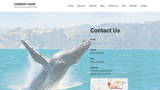 Mins Whale Watching WordPress Theme