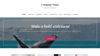 Uptown Style Whale Watching WordPress Theme