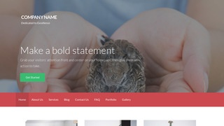 Activation Wildlife Rescue WordPress Theme