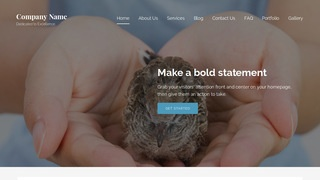 Lyrical Wildlife Rescue WordPress Theme