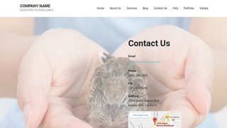 Mins Wildlife Rescue WordPress Theme