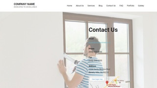 Mins Window Repair and Installation WordPress Theme
