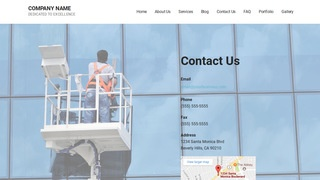 Mins Window Washing WordPress Theme