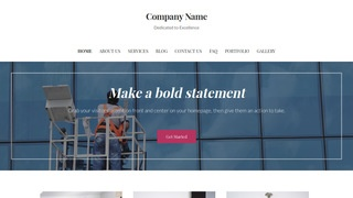Uptown Style Window Washing WordPress Theme