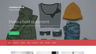 Activation Women's Clothing WordPress Theme