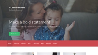 Activation Women's Shelter WordPress Theme