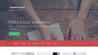 Activation Writer WordPress Theme