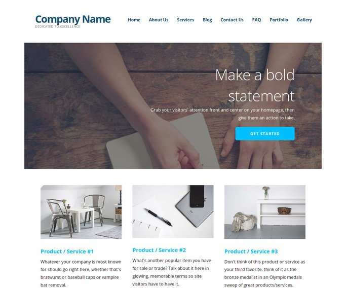 Ascension Writer WordPress Theme