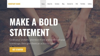 Stout Writer WordPress Theme