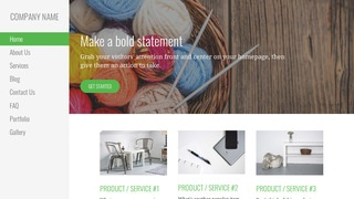 Escapade Yarn and Knitting WordPress Theme