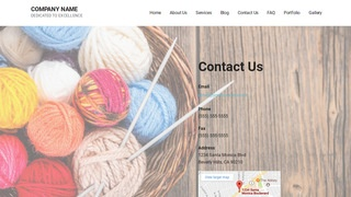 Mins Yarn and Knitting WordPress Theme