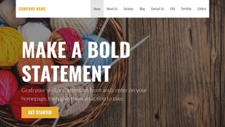 Stout Yarn and Knitting WordPress Theme