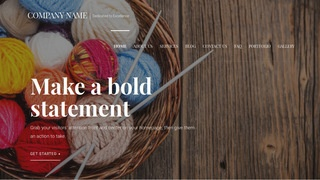 Velux Yarn and Knitting WordPress Theme